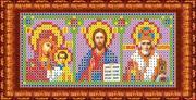 """Ткань схема для вышивки бисером или крестом Каролинка """"Триптих"""",..."""
