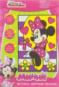 Disney Набор для росписи цветным песком Минни Маус