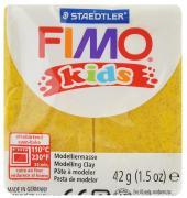 """Полимерная глина Fimo """"Kids"""", цвет: блестящий золотой, 42 г"""