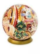 Шаровый пазл Мастерская Деда Мороза (540 деталей, 23 см) A2612_09