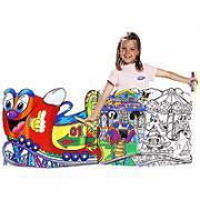 """Набор для рисования """"Carioca Luna Park"""", 65 предметов"""