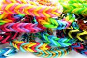 Набор резиночек для плетения браслетов Loom Bands (крючок, S-застежки,...