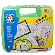 """Simba Набор для раскрашивания """"Art & Fun"""", в чемоданчике, цвет:..."""