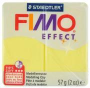 """Полимерная глина Fimo """"Effect"""", цвет: полупрозрачный желтый, 56 г"""