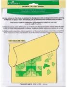Clover Клеющаяся ткань для пэчворка, 145x150 см. 473