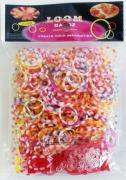 Набор резинок для плетения Двухцветные 550 шт. + U-станок RZ-31 Molly