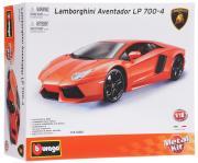 Bburago Сборная модель автомобиля Lamborghini Aventador LR 700-4 цвет...