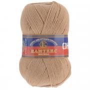 """Пряжа для вязания Камтекс """"Соната"""", цвет: бежевый (005), 250 м, 100 г,..."""
