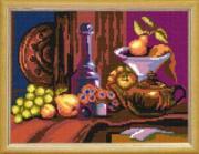 Канва с нанесенным рисунком *Старинный натюрморт*, Чарiвниця