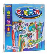Carioca Набор для рисования Planet 60 предметов