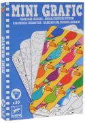 Djeco Набор карточек для раскрашивания Животные 30 шт