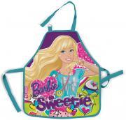 """Фартук для детского творчества """"Barbie"""", цвет: фиолетовый...."""