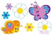 Раскраска по номерам Бабочки-подружки 20x30 см CX3108 Molly