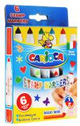 Carioca Набор фломастеров Stamp Markers 6 цветов