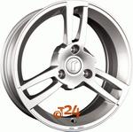 Диск Rondell 0216 5,0x15 3x112 et20 d57,1 Silber lackiert