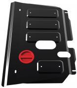 """Защита картера и КПП """"Автоброня"""", для Toyota Ractis/Yaris. 111.05707.1"""