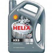 SHELL 550040295 (5w40) масло shell helix hx8 synthetic 5w40 мот. син....