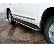 ТСС Защита порогов 42,4 мм для Toyota Land Cruiser 200 № TOYLC20012-03