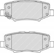 Задние колодки FERODO FDB4239 с звуковым предупреждением износа