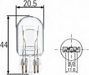 Лампа P21/5W min10 BEHR HELLA SERVICE 8GD008893002