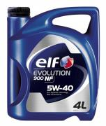 Моторное масло ELF Evolution 900 NF, 5W-40, 4л, RO196146