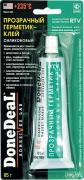 """Прозрачный силиконовый герметик-клей для стекол """"Done Deal"""". DD 6705"""