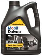Масло моторное Mobil Delvac mx 15w-40 (кан4л) (минеральное)