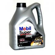 Масло моторное Mobil Super 2000 x1 10w-40 (кан1л) (полусинтетическое)