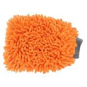 """Варежка """"Шиншилла"""" для мытья автомобиля, цвет: оранжевый. AB-D-02"""