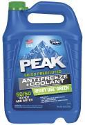Антифриз PEAK READY USE 50/50, готовый, цвет: зеленый G11; 3,78 л