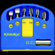 KL340 Набор бит-насадок 7 предметов KLAUKE