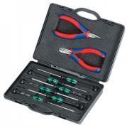 Набор инструментов для электроники KNIPEX 00 20 18 KN-002018