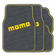 """Коврики автомобильные MOMO """"Commando"""", эластичный ПВХ, цвет: черный,..."""