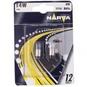 Лампа автомобильная Narva T4W 12V-4W (BA9s) (2шт.) 17131