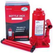 Домкрат AutoVirazh гидравлический 10 т бутылочный в коробке (красный)