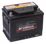 Автомобильный аккумулятор Delkor 56219 (62R 580A 241x174x188) 580A...