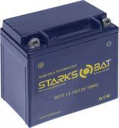 """Батарея аккумуляторная для мотоциклов """"Starksbat"""". YT 12-10 (YB9A-A)"""