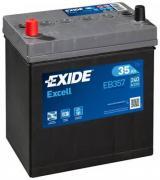 Аккумулятор Excell 12V 35Ah 240A 187x127x220 ETN1 JIS клемы Крепление...