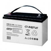 Аккумуляторная батарея Энергия АКБ 12-100 - AGM, 100Ач, 12B