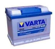 Аккумулятор VARTA Blue Dynamic 60 А/ч 560127 D43