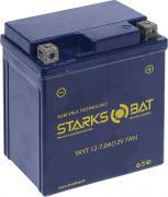 "Батарея аккумуляторная для мотоциклов ""Starksbat"". YT 12-7.0A..."