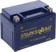"Батарея аккумуляторная для мотоциклов ""Starksbat"". YT 12-9.0 (YTX9-BS)"
