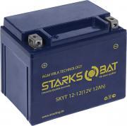 "Батарея аккумуляторная для мотоциклов ""Starksbat"". YT 12-12 (YTX14-BS)"