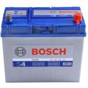 Аккумуляторы Аккумулятор BOSCH S4 021 Silver 545 156 033, 45e Ач