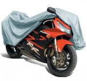 """Защитный чехол-тент на мотоцикл """"AVS"""", 203 х 89 х 119 см Размер M"""