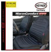 """накидка на сиденье """"Heyner"""", с подогревом, 24B, 54 Вт, цвет: черный"""