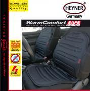 """Накидка на сиденье """"Heyner"""", с подогревом, 12B, 42 Вт, цвет: черный"""