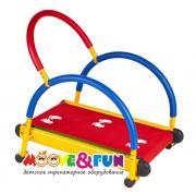 Детская беговая дорожка Moove&Fun