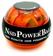 """Тренажер кистевой NSD Power """"Powerball 250 Hz"""", цвет: оранжевый"""