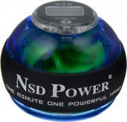 "Тренажер кистевой NSD Power ""Powerball Pro"", цвет: синий"